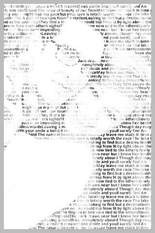 LOVE! A site that helps you combine your words and a picture. favorite scriptures, favorite quotes, or favorite songs.