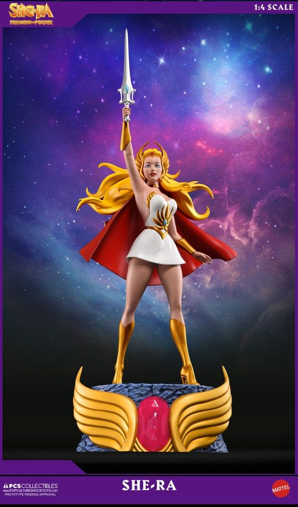 PCS Collectibles Presents She-Ra: Princess of Power 1:4 Scale Statue