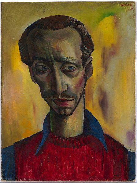Albert TUCKER, Self portrait, 1941