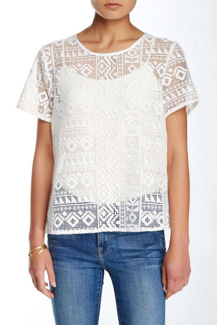 Sweet Aztec Shirt by Sugarlips on @nordstrom_rack