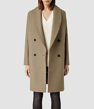Damen Ember Nesi Coat (Dune) -