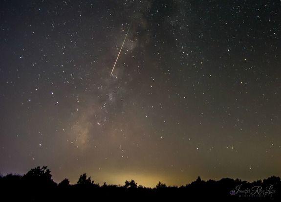 fotos da chuva de meteoros perseidas 6