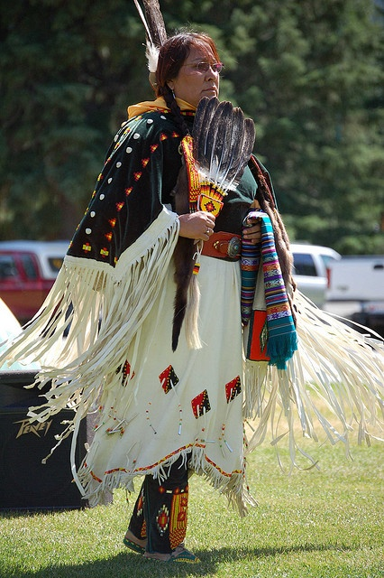Canadian Native Dancers - DSC_0567 by cliffordjol, via Flickr