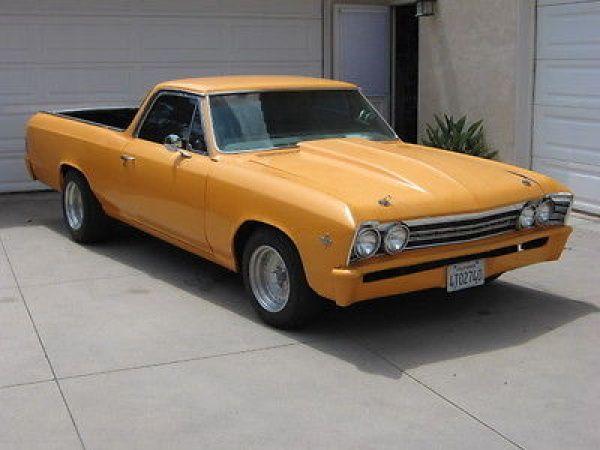 Chevrolet: El Camino 1967 chevy el camino street rod project needs finishing
