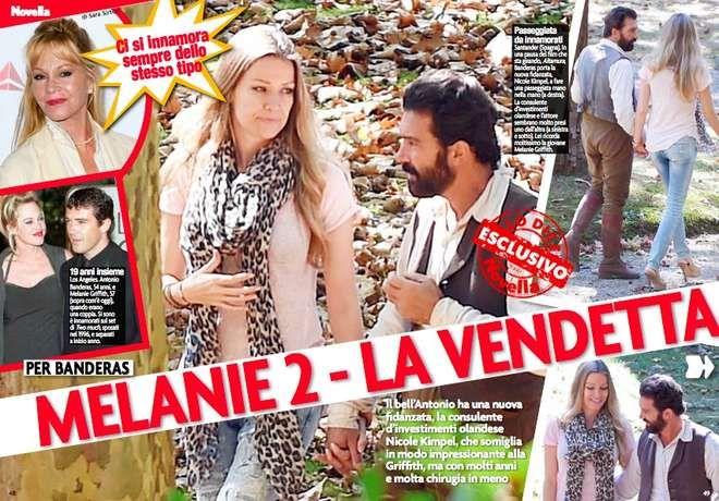 Antonio Banderas trova una nuova Melanie: somiglia alla sua ex moglie, ma è più giovane