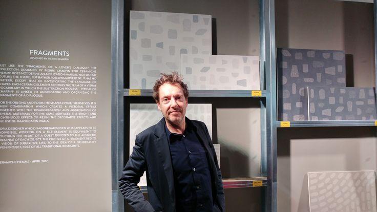 Pierre Charpin ci racconta della genesi di Fragments, la nuova collezione di Ceramiche Piemme, #BreraDisignDistrict #Brera #Fuorisalone2017 #MCaroundSaloni