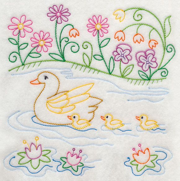 Best baby kids embroidery squares for quilting images
