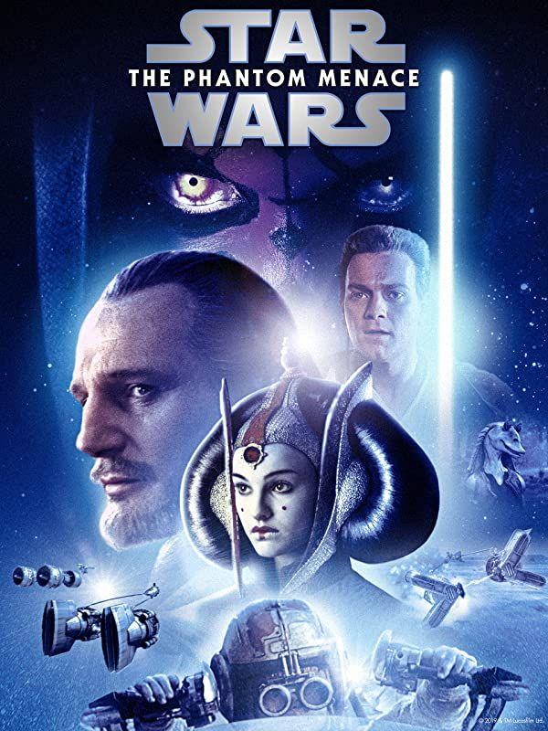 Prime Video Star Wars A Ameaca Fantasma I Star Wars Movies Posters Disney Star Wars Star Wars Poster