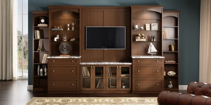 A California Closets Design Consultant can analyze your media center components and the way you want to use your living space to create a custom media storage solution as stylish and as smart as the technology it houses.