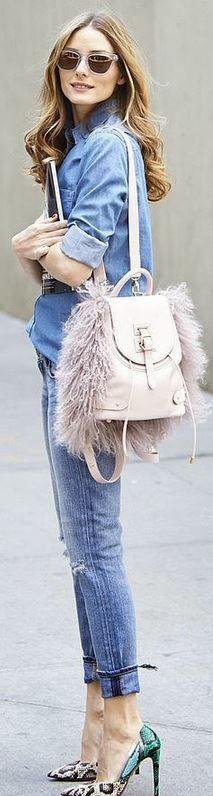Por qué no usamos las argentnas jeans con stiletos???? Me encanta