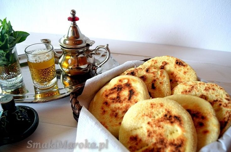 Batbout, chlebek z patelni