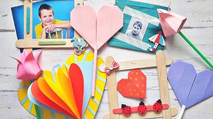 Apabarát kézműves ötletek anyák napjára #anyáknapja #ünnep #diy #kreatív #ajándék
