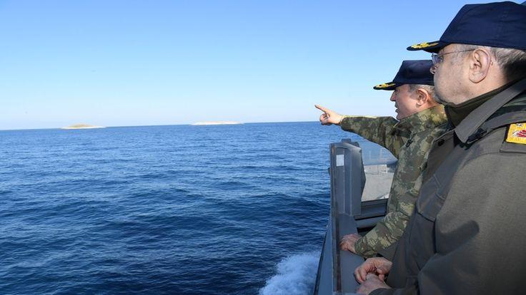 Genelkurmay Başkanı Org. Hulusi Akar'ın Ege Denizi ve Aksaz Deniz Üssü D...