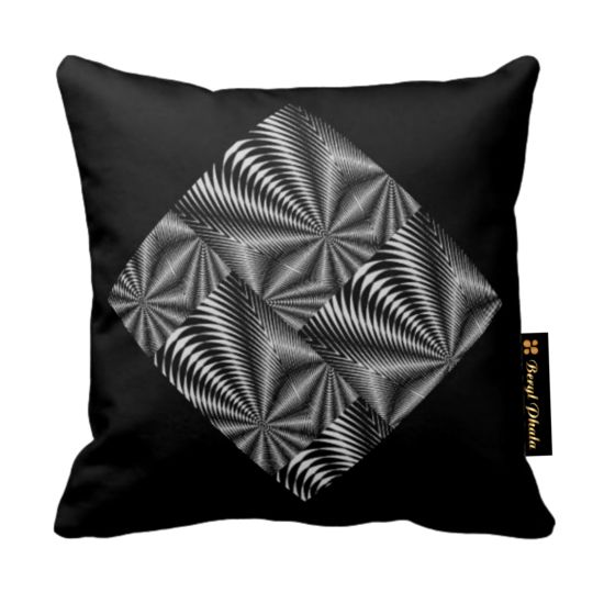 Cushion Black and White Zebra Print | Accent your home with suede vision digital print cushion. This luxury cushion looks great in your house. The perfect complement to your couch, this... view details on www.treniq.com