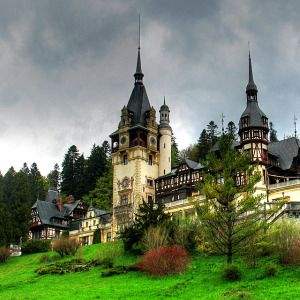 Peles Castle is Neo-Renaissance castle that was built in a particularly beautiful part of Romania's Carpathian Mountains between 1873 and 1914. King Carol I of Romania fell in love with this particular stretch of rugged terrain and decided to build the castle in 1866, which, according to architectural technicalities, is actually a palace due to its lack of defensive fortification. Peles Castle is widely regarded as one of Romania's national landmarks.