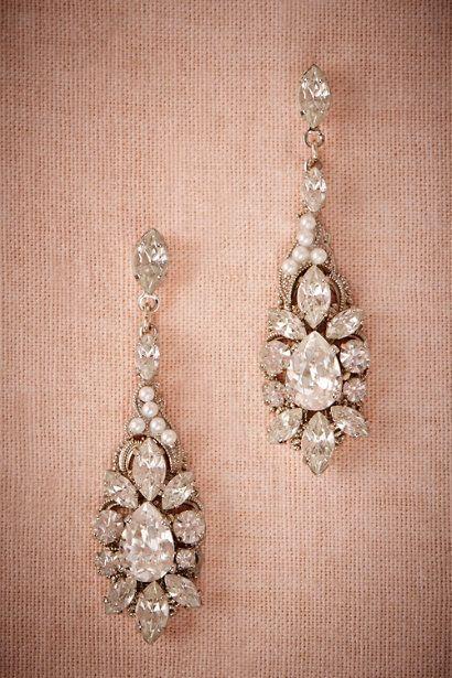 BHLDN Ballroom Chandelier Earrings in  Bride Bridal Jewelry at BHLDN