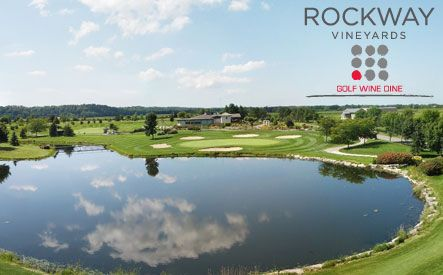 Niagara Falls daily deals - Rockway Vineyards  - $69 for a Golf and Wine Package for 2 at Rockway Vineyards including 18 Holes of Golf, 2 Buckets of Driving Range Balls, Wine Tasting and a $20 Credit for VQA Wine (a $222 Value)