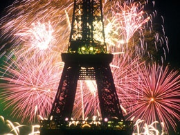 see the bastille day fireworks at the eifel tower while eating a french picnic on a bridge over the seine with the love of my life.    (okay, really the dream was just to go to paris, but it turned out so much better than that.)