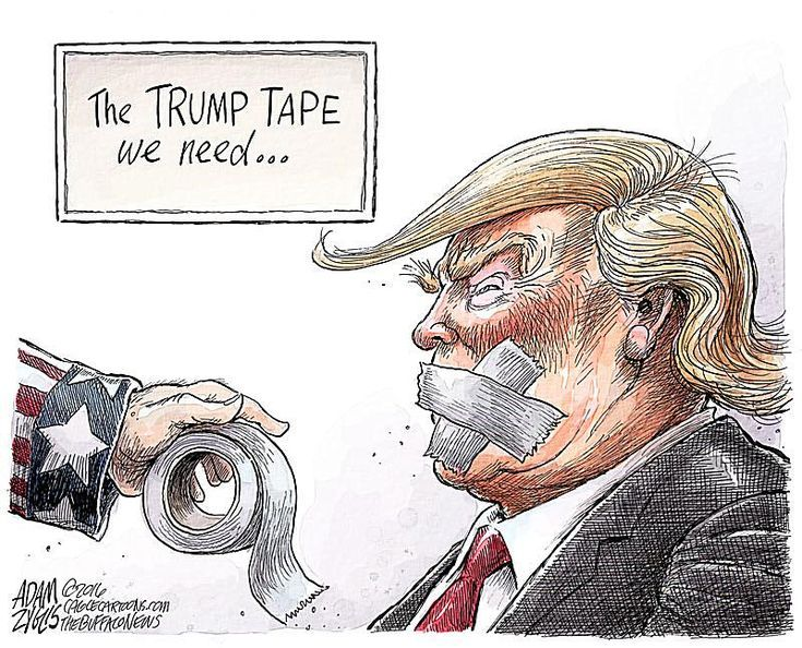 Best Donald Trump Cartoons: The Trump Tape We Need