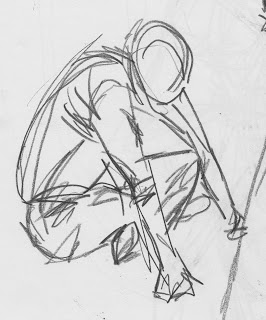 Lily Glover: Gesture Drawings