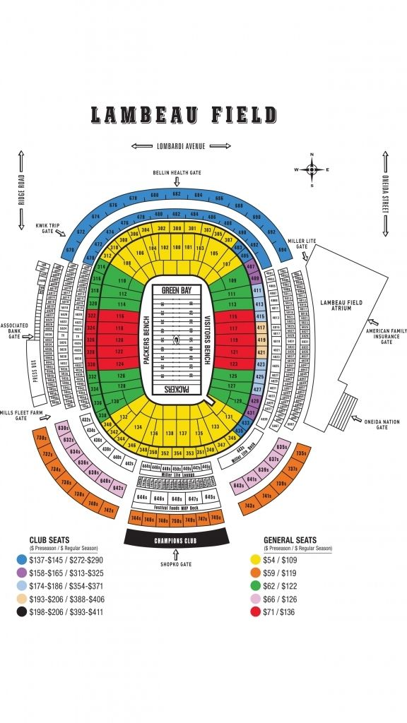Packers Seating Chart Packersfamilynightseatingchart Packersseatingchartview Packersseatingmap Packersstadiums In 2020 Seating Charts Packers Family Night Seating