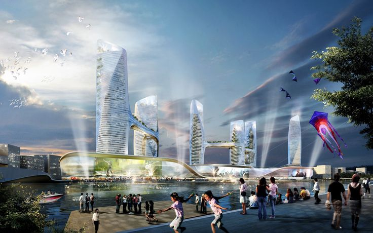 Tongzhou Central Business District by UNStudio