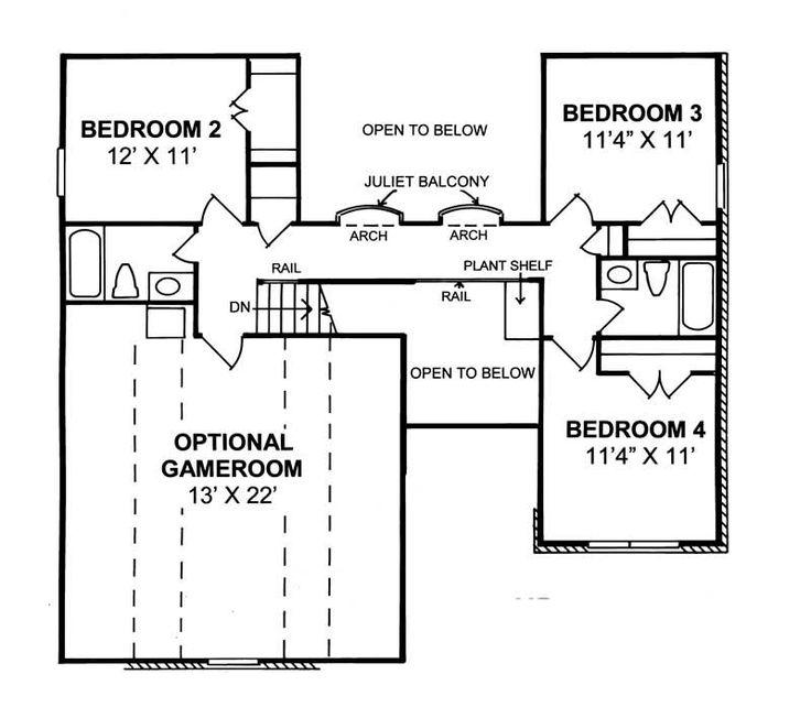 House Plans Open Floor 105 best architecture - house plans images on pinterest | home