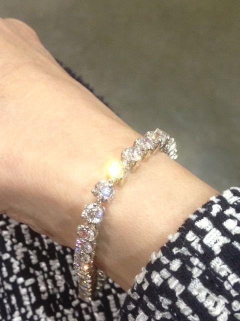 Pin By Prtha Lastnight On Diamond Ideas In 2018 Diamond Bracelets