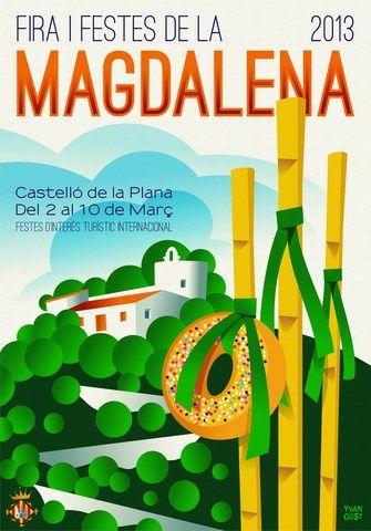 2013 - Cartel Fiestas de la Magdalena de Castellón de la Plana