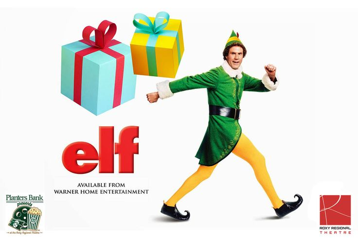 "Planters Bank Presents the Christmas movie ""Elf"" at the Roxy Regional Theatre"
