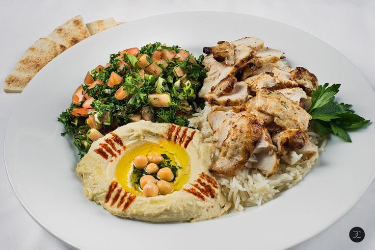 Chicken Shawarma Plate.