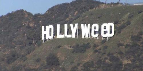 [VIDEO] Vandalizan famoso cartel de Hollywood -...