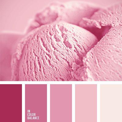 color casi burdeos, color helado, color helado de frambuesa, color helado de fresa, color helado de vainilla y fresa, color lila, color melocotón, color puce francés, paleta de colores monocromática, paleta del color rosado monocromática, paletas de diseño, paletas para un diseñador, rosa