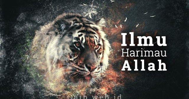 Ilmu Harimau Allah Harimau Allah Gaib