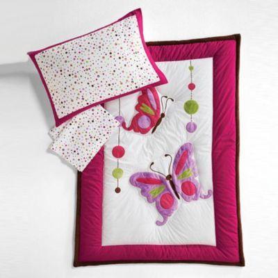 babyu0027s first butterfly and jewels 4 piece toddler bedding set u0026 reviews wayfair