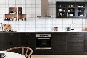 Ballingslövs kökslucka Bistro i färgen ask brunbets. Ett brunt kök i modern tappning. | Ballingslöv