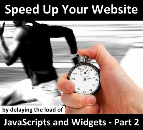 While knowing how to speed up your website is a crucial technical competence for any serious webmaster, the new frontier is knowing how to avoid getting a web site to perform poorly after having added third-party widgets, add-ons and plugins. As a matter of fact, as mentioned in Part 1 of this guide..    Link: http://www.masternewmedia.org/how-to-speed-up-your-website-page-load-performance-by-delaying-the-load-of-javascript-and-widgets-part-2/