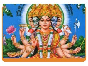 """ What are Goddess Gayatri Mantra in hindi and english "" by Astrologer Rahul Kaushal  --------------------------------------------------------- ॐ भूर्भुवः स्वः तत्सवितुर्वरेण्यं भर्गो देवस्यः धीमहि धियो यो नः प्रचोदयात्॥ Om Bhur Bhuwah Svah Tat Savitur Varenyam  Bhargo Devasya Dhimahi Dhiyo Yo Nah Prachodayat॥ http://www.pandit.com/what-are-goddess-gayatri-mantra-in-hindi-and-english/"
