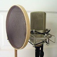 DIY Microphone Pop Filter