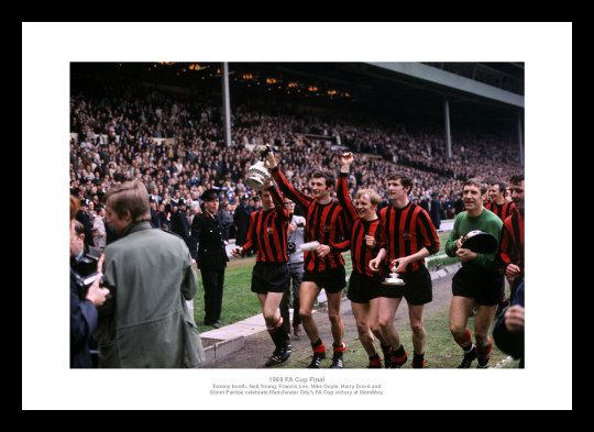 Manchester City 1969 FA Cup Final Team Photo