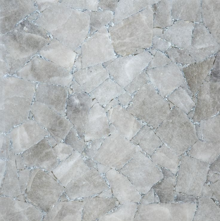 Quartz Smoky with silver / New collection : TILES & LISTELS