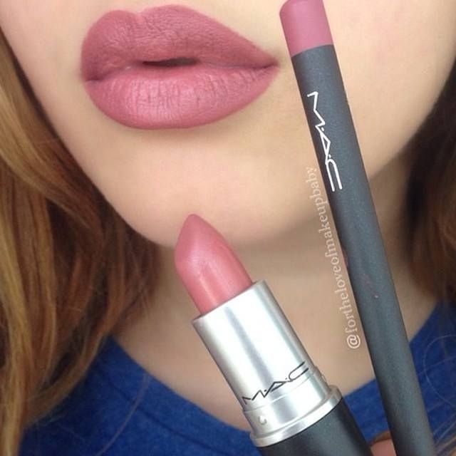 Obsessed!!!!! with the lip combo! MAC Soar lip liner with MAC Brave lipstick... Im a pink/ neutral/ purple/ orange girl (my fave: Savory) #classic