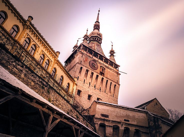 "This 64 m tall building is considered the landmark of Sighisoara. This defence tower received its name from the large clock located right under the observation gallery. Under the Clock Tower you will find the main entrance into the old inhabited medieval citadel. Also the torture room is located right under the tower. Today the … Continue reading ""Sighisoara Clock Tower"""