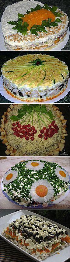Салаты с копченой курицей: 8 рецептов / Простые рецепты