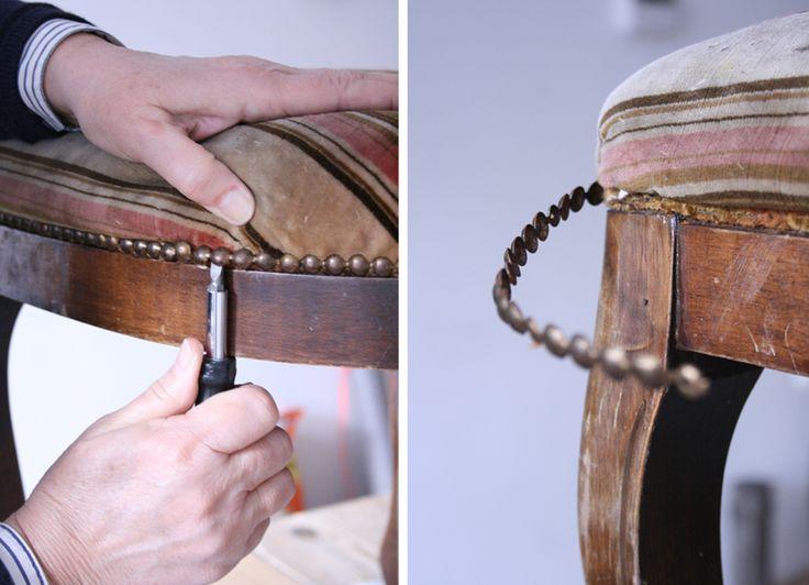 DIY stoeltje nagels losmaken