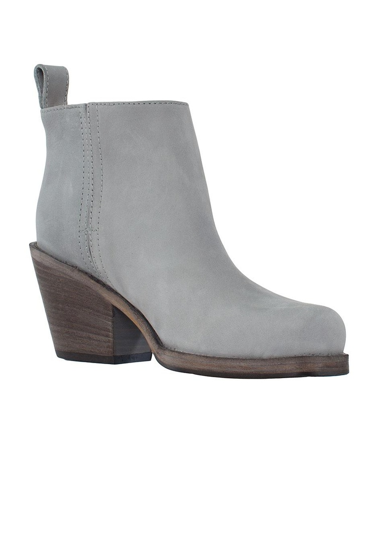 ACNE Ankle Boot Rider Low in pale blue