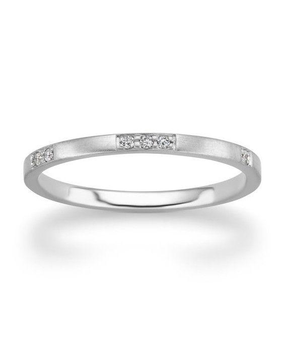 7900643b09967c The Prettiest Delicate Wedding Bands for Modern Brides   renewal 19    Wedding, Wedding Rings, Wedding bands