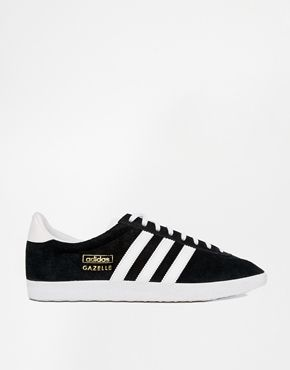Classic Adidas Gazelles are such a useful shoe to have! I would team these with some leather trousers.http://asos.to/1s9yr6O