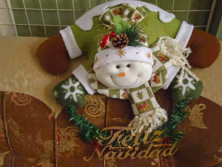 Navidad Moldes De Amanda: APLIQUES PLANOS PARA PARED EN TELA FOAMY Y FIELTRO