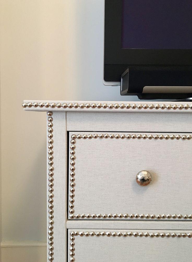 Ikea Hack Hemnes Grasscloth Dresser
